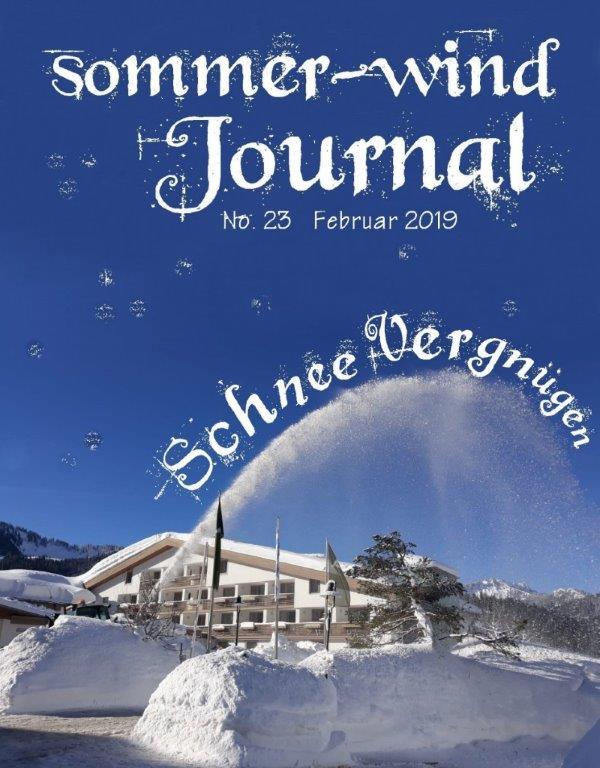 sommer-wind Journal Ausgabe Februar 2019