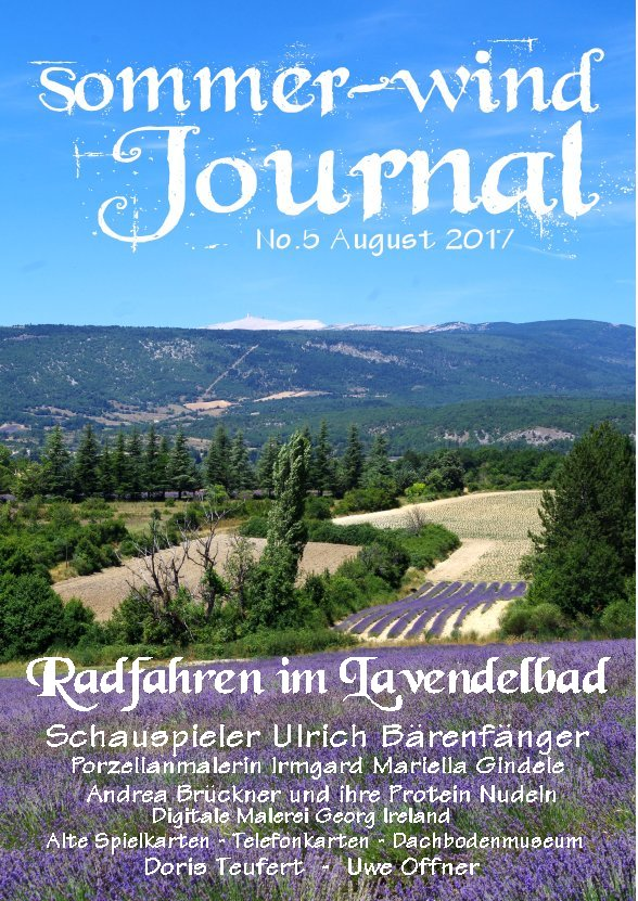 Sommer-Wind Journal August 2017